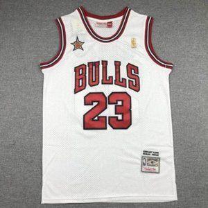NWT Michael Jordan White Jersey SZ Various